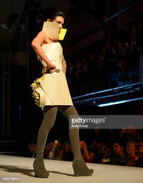 Roth Sheppard/Gerflor entry for the 2015 PretaPorter fashion show Future Undefined hosted by the International Interior Design Association Rocky...