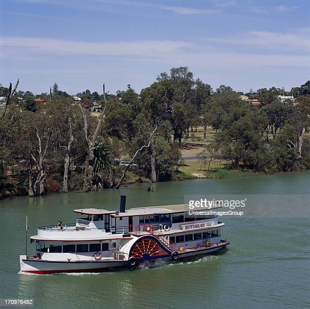 PS Rothbury paddle steamer boat Murray River Echuca Victoria VIC Australia