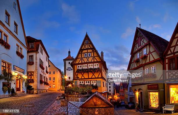 rothenburg stock fotos und bilder getty images. Black Bedroom Furniture Sets. Home Design Ideas