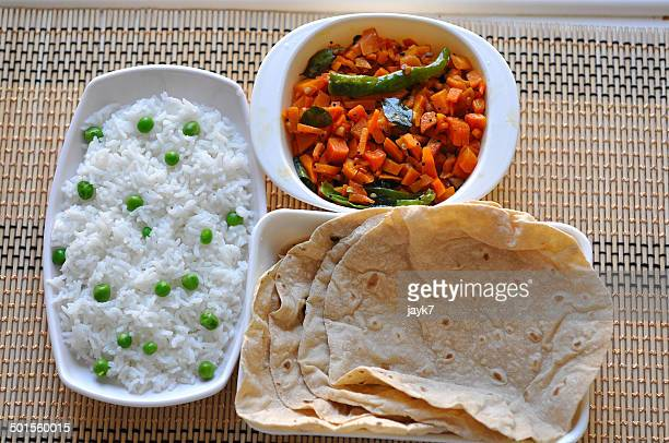 Roti and Rice Pulav