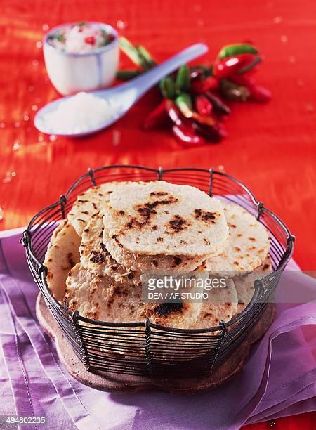 Roti flatbread India