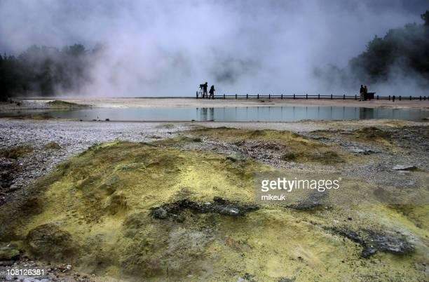 Rotorua, New Zealand geothermal area
