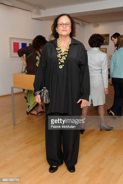 Rotraut attends GALERIE GMURZYNSKA Celebrates the Opening of YVES KLEIN ROTRAUT Exhibition at Museo d'Arte Lugano on May 15 2009 in Lugano Switzerland