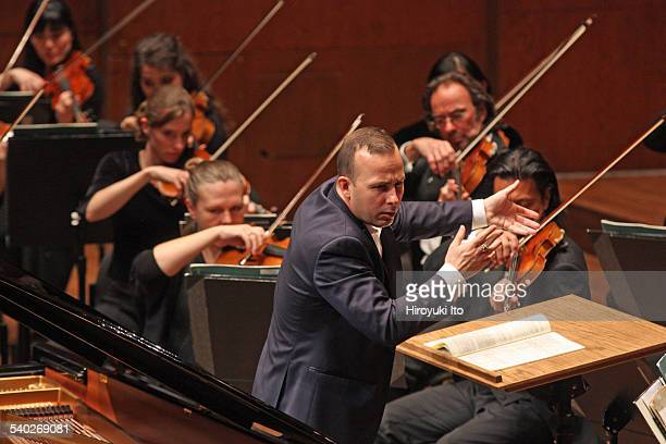 Rotterdam Philharmonic Orchestra performing at Avery Fisher Hall on Sunday afternoon February 22 2015This imageYannick NezetSeguin conducting the...