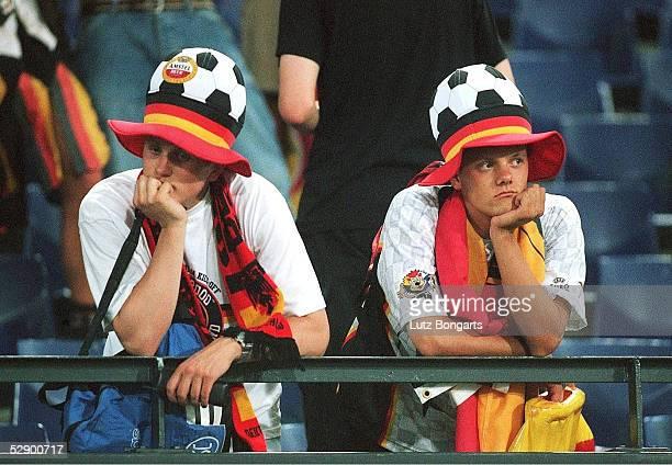 EURO 2000 Rotterdam PORTUGAL DEUTSCHLAND 30 FANS DEUTSCHLAND