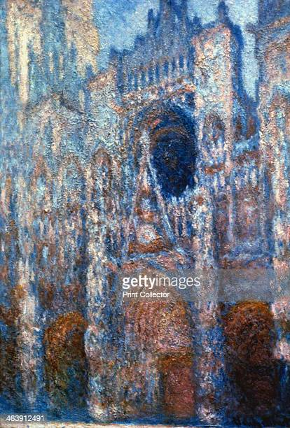 'Rouen Cathedral Sunlight' 1894 From the Sterling and Francine Clark Art Institute Williamstown Massachusetts