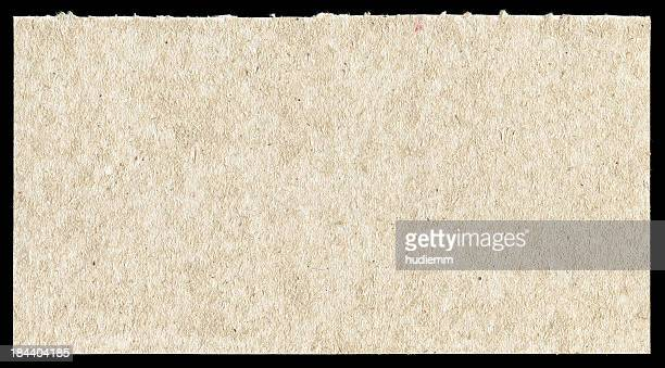 Rough paper textured background isolated