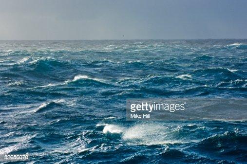 Rough Seas, Southern Atlantic Ocean