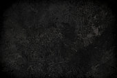 Rough textured black concrete photo background