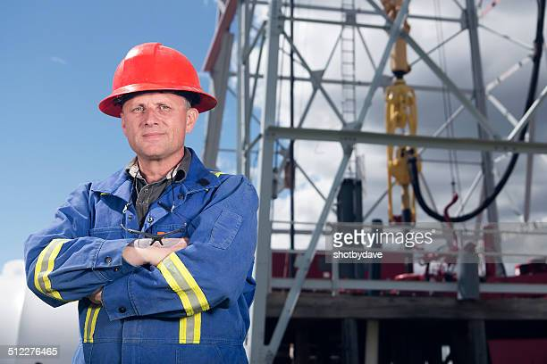 Roughneck at a Rig