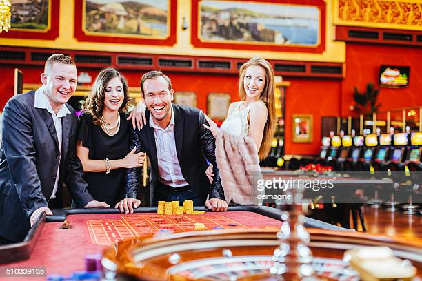 Roulette Game at Casino