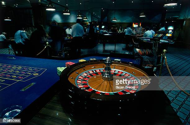 Roulette Table at a Casino
