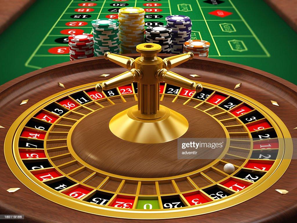 Roulette wheel : Stock Photo