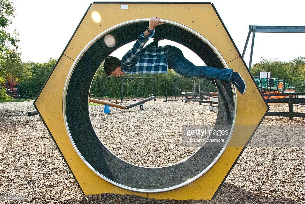 Round and round : Stock Photo