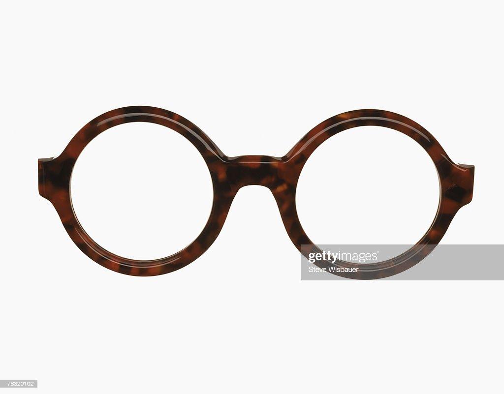 Eyeglass Frame Identification : Round Eyeglass Frames Stock Photo Getty Images
