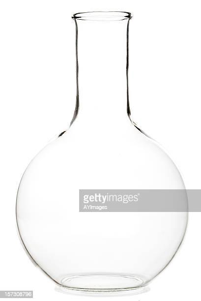 Tour de verre de laboratoire Fiole conique