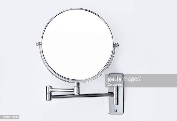 Round parede-montado espelho
