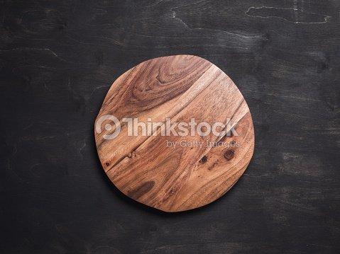 木製丸盆 : ストックフォト