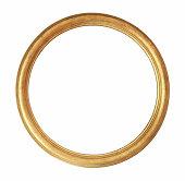 Rounded Golden Frame
