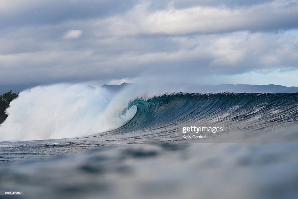 Rounds two and three of the Billabong Pipe Masters were completed in perfect conditions at Pipeline on December 9, 2012 in North Shore, Hawaii.