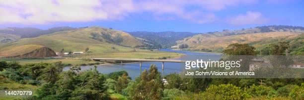 Route 1 Bridge over Russian River Sonoma County California