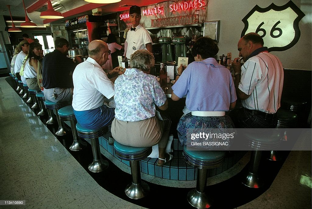 Chicago To Los Angeles On June 1st, 1992 - 66 Diner - Albuquerque, New Mexico In Albuquerque,United States