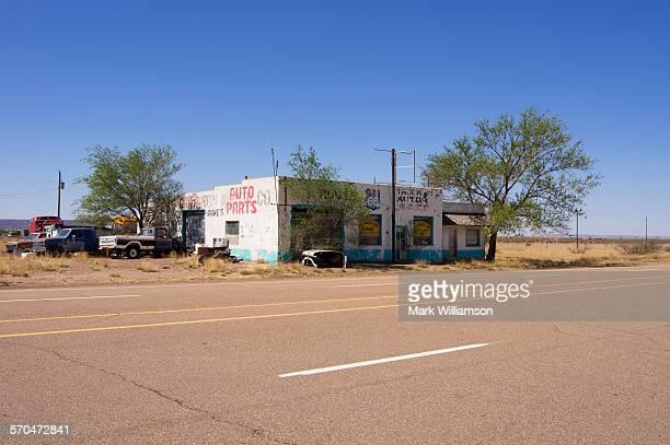 Route 66 garage.