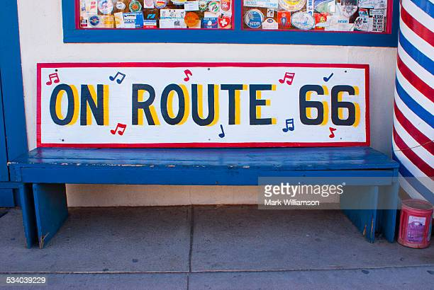 Route 66 gift shop in Seligman.