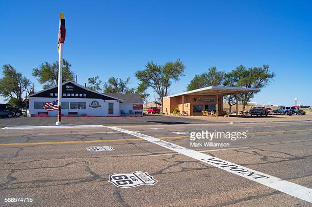 Route 66 Midpoint Café.