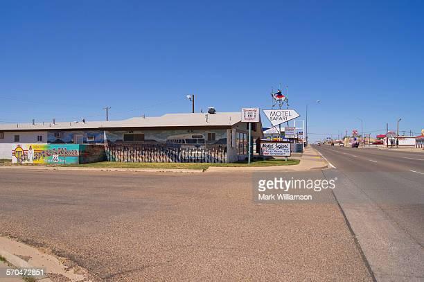 Route 66 motel.