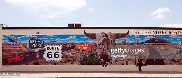 Route 66 Mural Tucumcari New Mexico