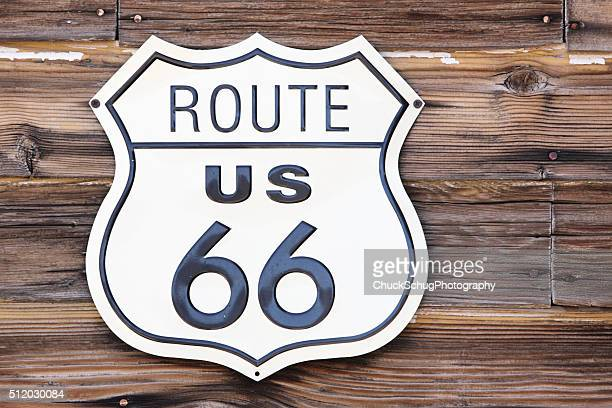Route 66 の道路標識