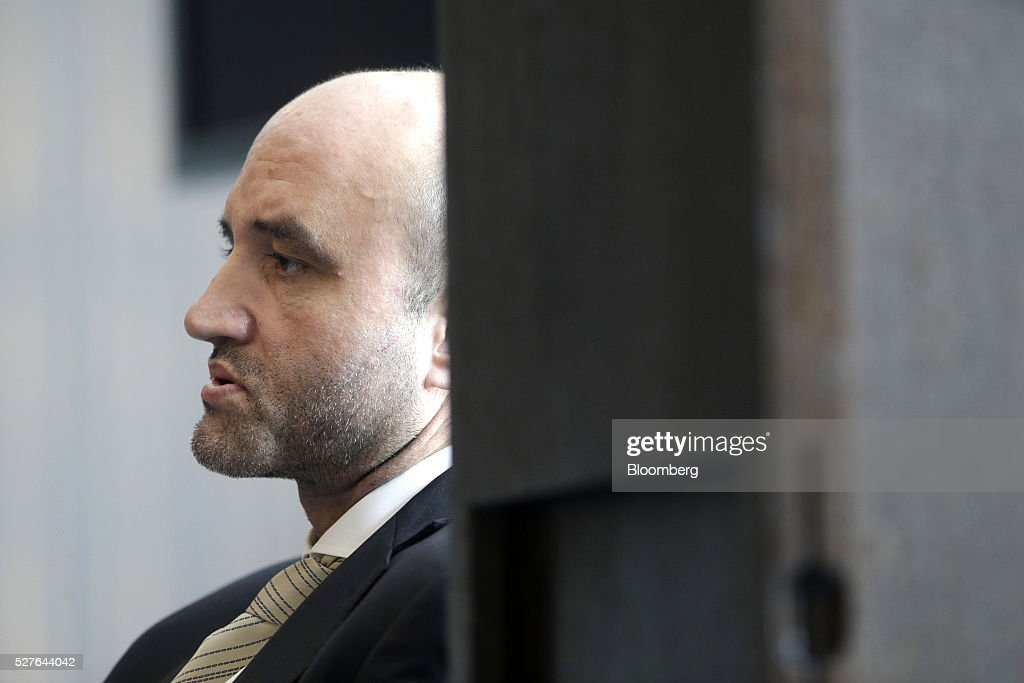 Rouzbeh Pirouz, chairman of Turquoise Partners, looks on during the Europe-Iran Forum in Zurich, Switzerland, on Tuesday, May 3, 2016. The U.S., Russia and European countries in January lifted a series of economic sanctions in exchange for Iran's agreement to curb its nuclear activities. Photographer: Matthew Lloyd/Bloomberg via Getty Images