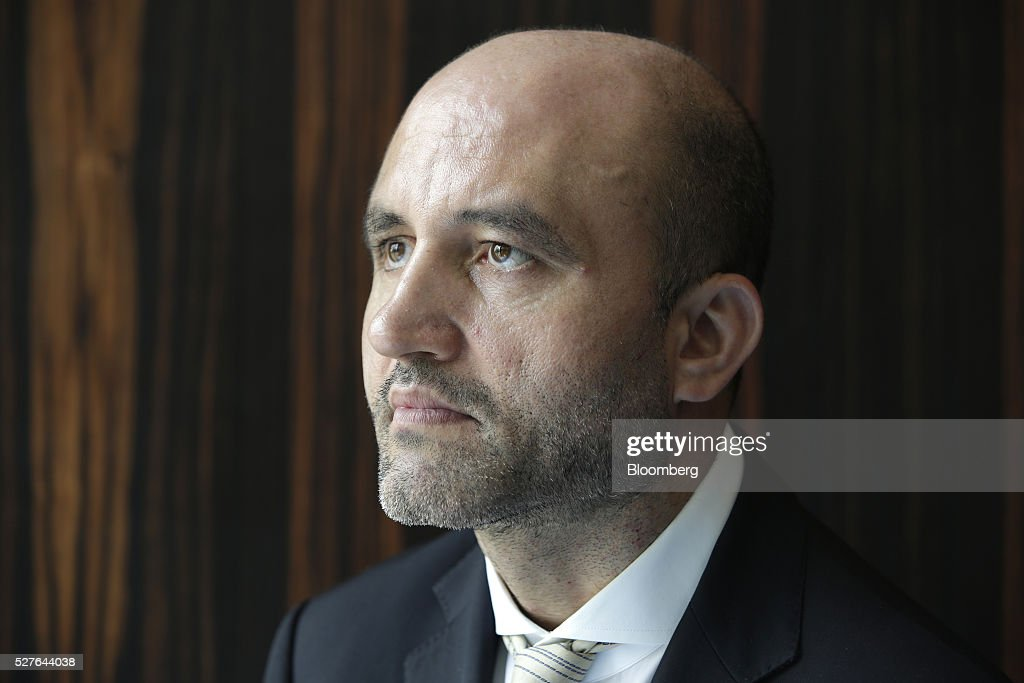 Rouzbeh Pirouz, chairman of Turquoise Partners, poses for a photograph during the Europe-Iran Forum in Zurich, Switzerland, on Tuesday, May 3, 2016. The U.S., Russia and European countries in January lifted a series of economic sanctions in exchange for Iran's agreement to curb its nuclear activities. Photographer: Matthew Lloyd/Bloomberg via Getty Images