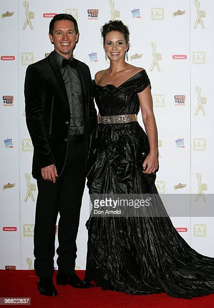 Rove McManus and Tasma Walton arrive at the 52nd TV Week Logie Awards at Crown Casino on May 2 2010 in Melbourne Australia