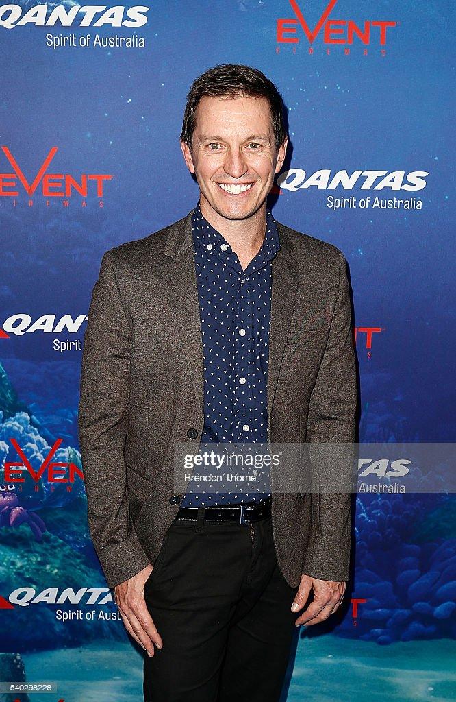 Rove McManus arrives ahead of the Finding Dory Australian Premiere at Event Cinemas George Street on June 15, 2016 in Sydney, Australia.