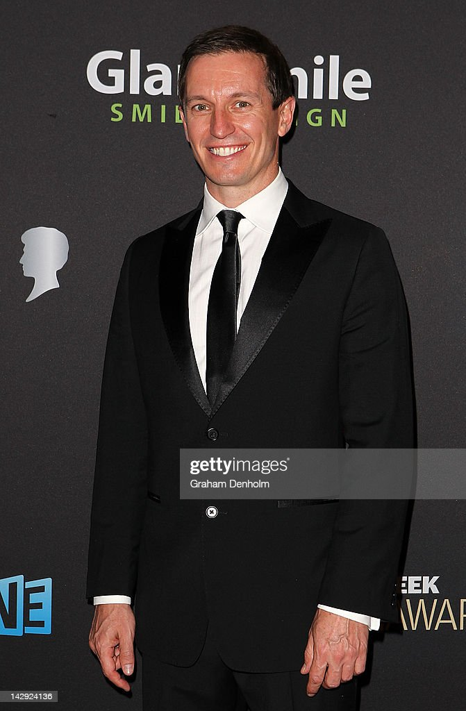 Rove McManus arrives at the 2012 Logie Awards at the Crown Palladium on April 15, 2012 in Melbourne, Australia.