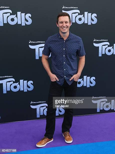 Rove McManus arrives at the 'Trolls' Australian Premiere on November 20 2016 in Sydney Australia