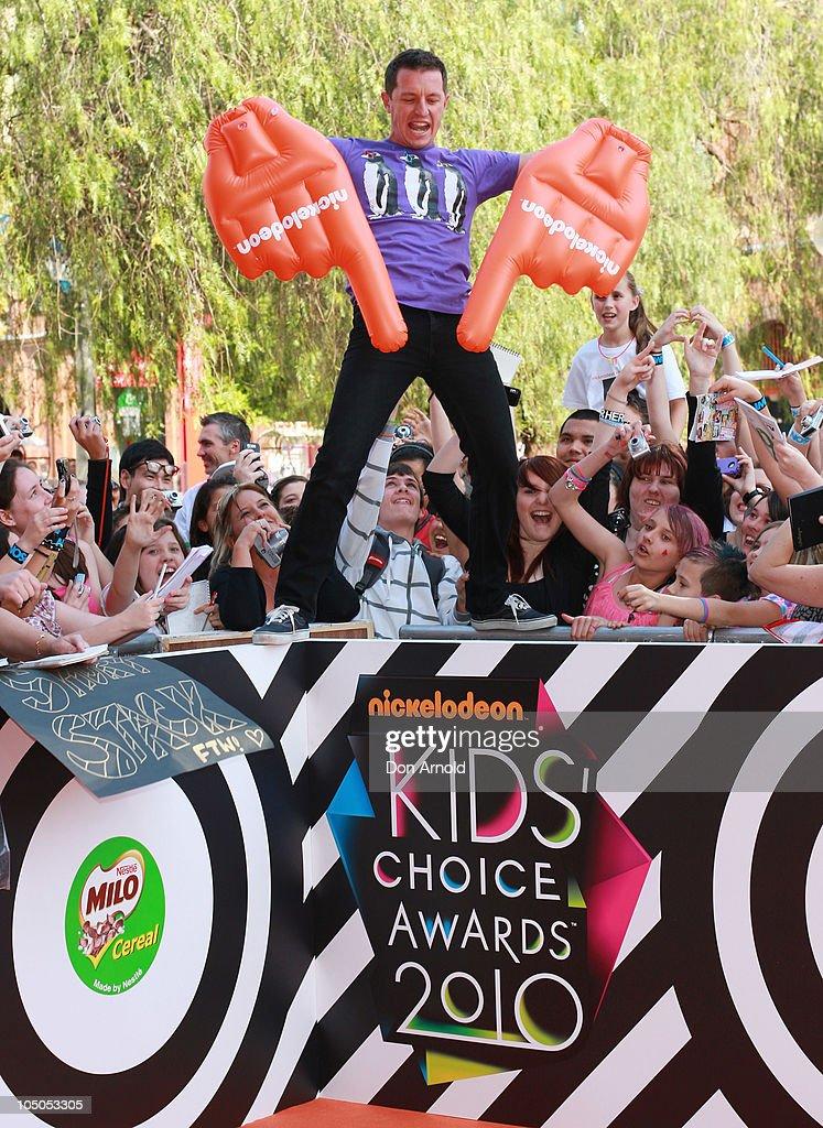 Australian Nickelodeon Kid's Choice Awards - Arrivals
