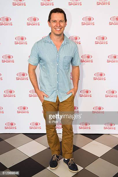 Rove McManus attends the Channel Nines 2016 NRL Launch at The Greens North Sydney on February 26 2016 in Sydney Australia