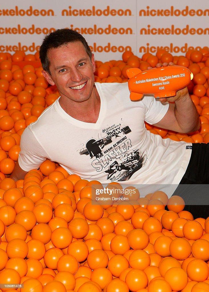 Australian Nickelodeon Kid's Choice Awards - Awards Room