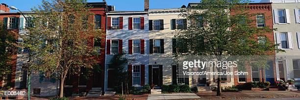 Row homes, Philadelphia