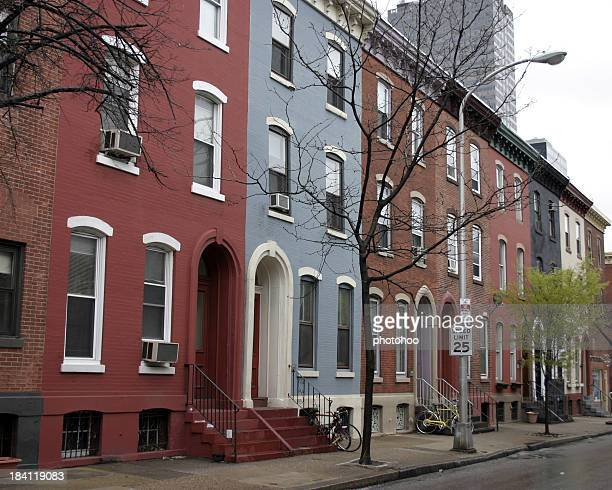 Row Houses in Central Philadelphia