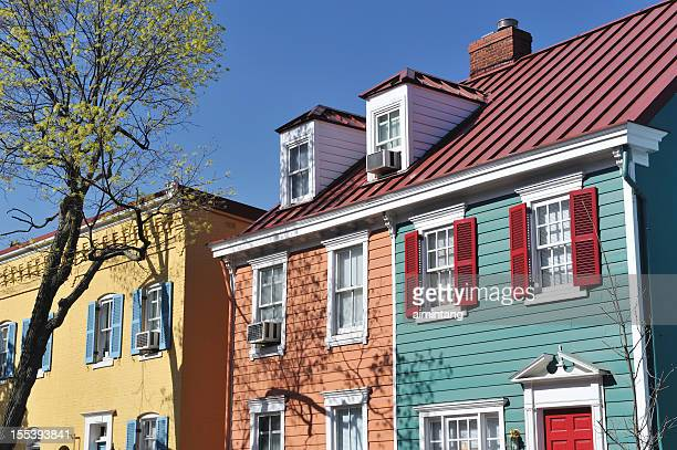 Row Houses in Georgetown