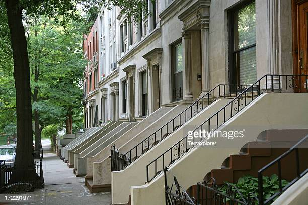 Row Houses in Harlem