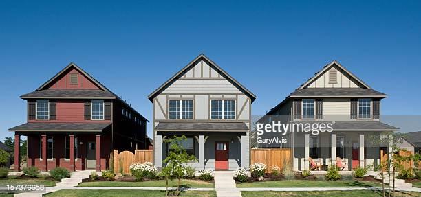 Maisons adossées