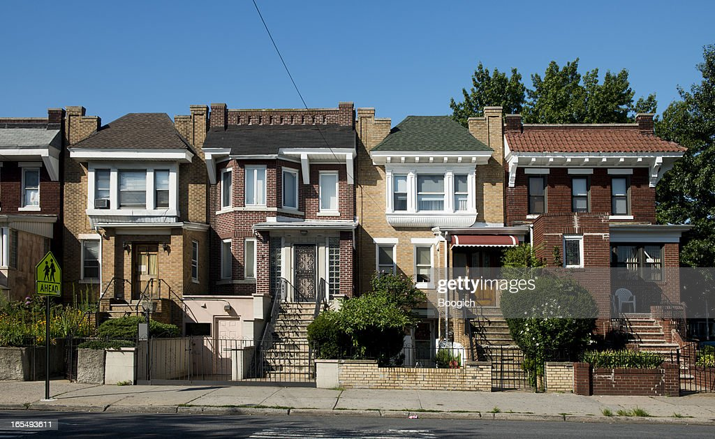 Row of Brick Houses