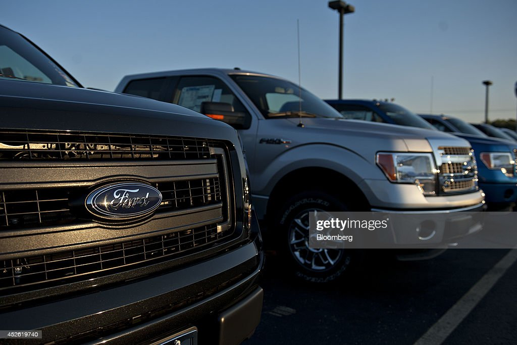 A ford motor co car dealership ahead of earnings figures for Ford motor company dealerships