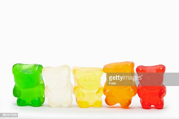 Row of Gummi Bears