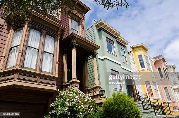 Row of homes in San Francisco, CA